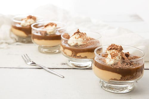 Salted Caramel Cheesecake Dessert