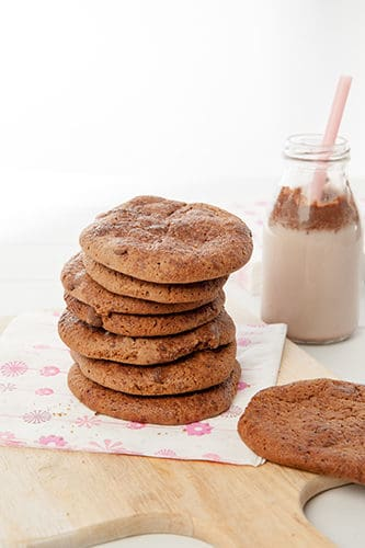 Malted Milo Choc Chip Cookies
