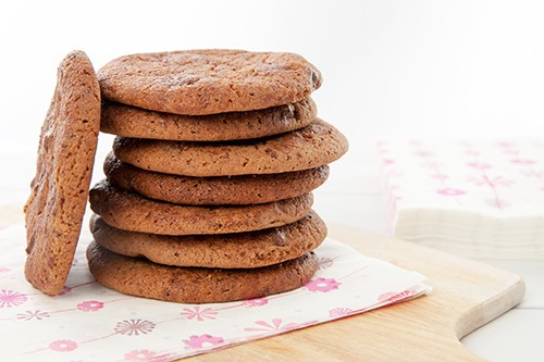 Chocolate Malted Milo Cookie Stack