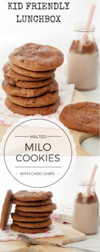 Malted Milo Cookies - PIN ME
