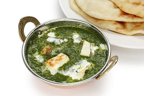 Spinach & Paneer Curry