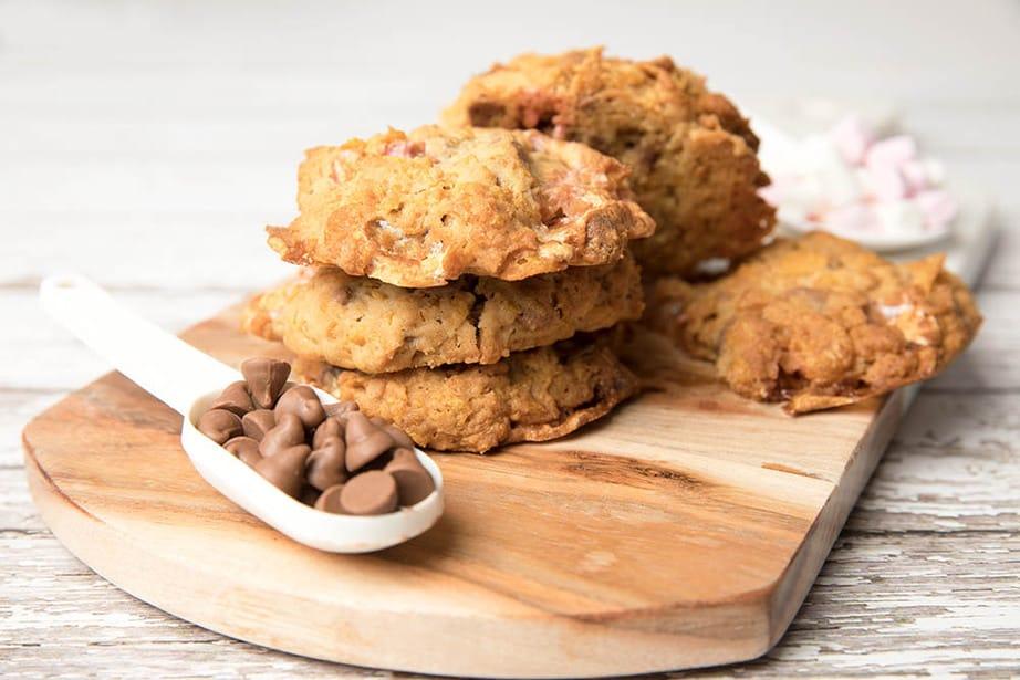 Closeup Momofuku Cornflake Cookie